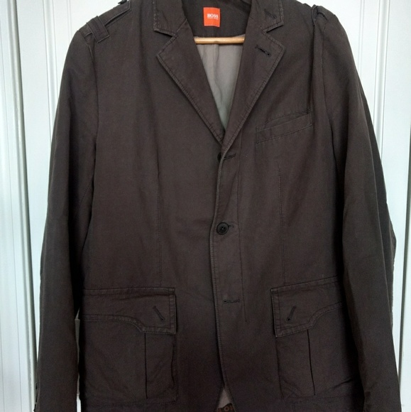 6d7aedc6 BOSS ORANGE Suits & Blazers   Mens Hugo Boss Military Style Jacket ...